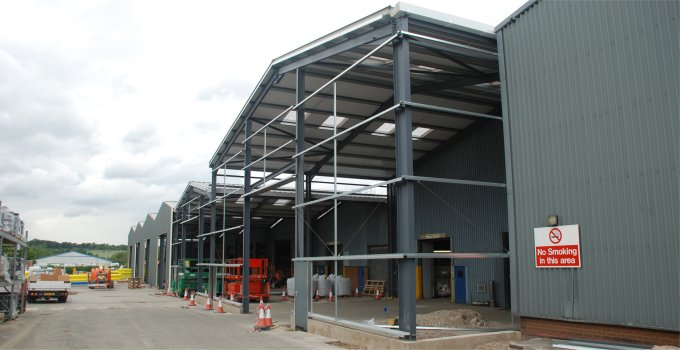 Steel Buildings for Factory units