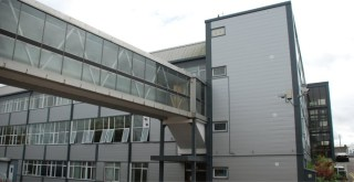 Steel cladding on a refurbished industrial unit with the addition of a steel built extension