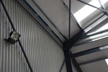 Joints give structural strength for steel buildings